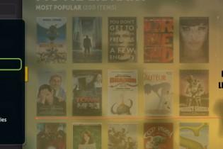 Il cinema a disposizione
