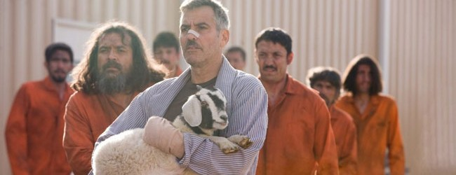 L'uomo che fissa le capre (2009)